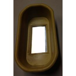 #TS8091 OVAL BIRD BATH WITH MIRROR Image